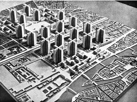NYC and LA – A Tale of Two Cities – Le Corbusier and Frank LloydWright