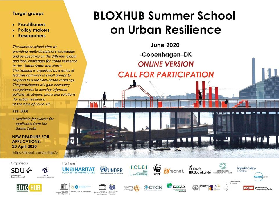 3 Things I Learned from Attending the 2020 BLOXHUB Summer School on Urban Resilience at the University of Southern Denmark